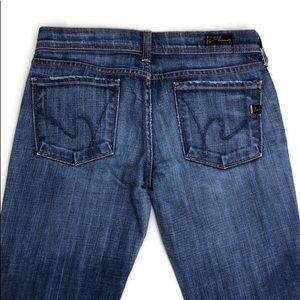 COH  Ingrid Low Waist Flair Stretch Size 27 Jeans